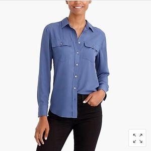 JCrew Factory Long-Sleeve Button Down Shirt
